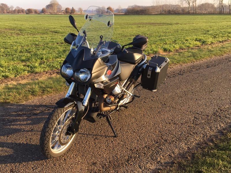 Moto Guzzi Stelvio Koffersystem