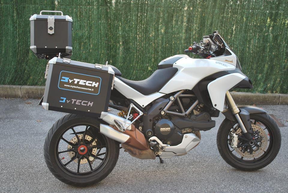 Ducati Multistrada Koffersystem TopCase MyTech Moko