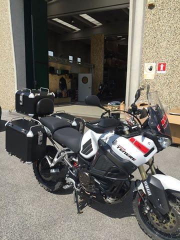 Yamaha SuperTenere 2016 Koffersystem schwarz MyTech Moko