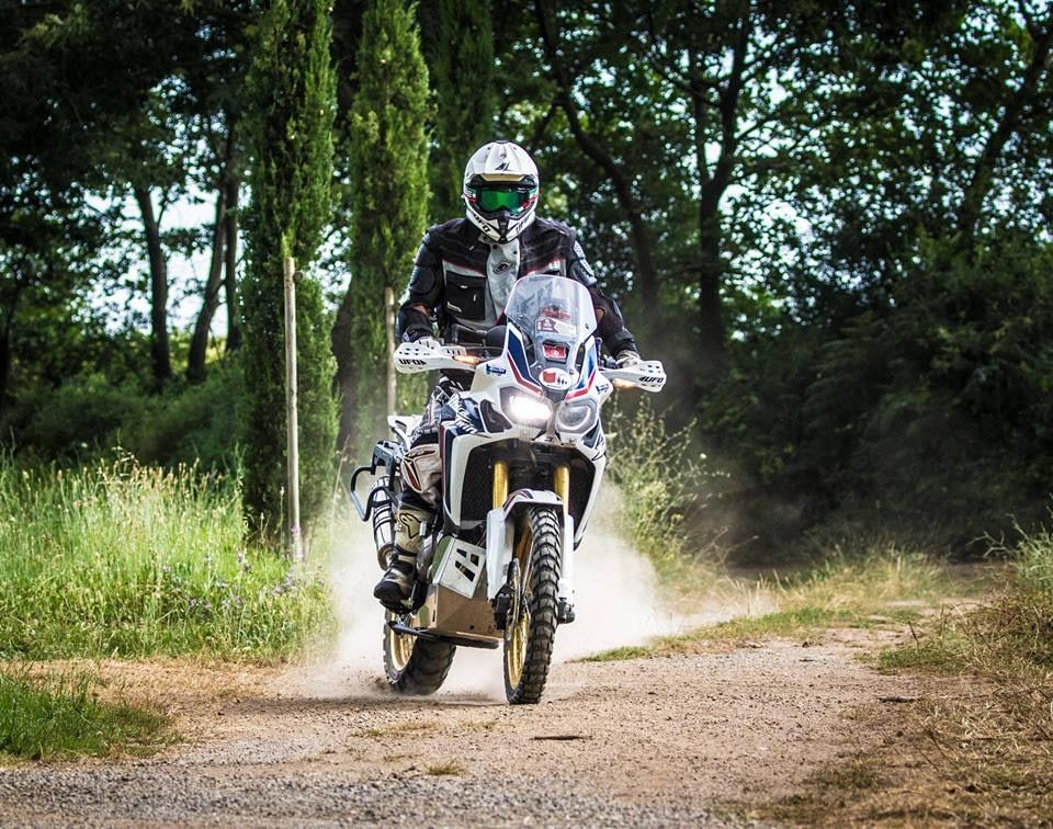 Honda Africa Twin Scheinwerfer Schutz natur 2