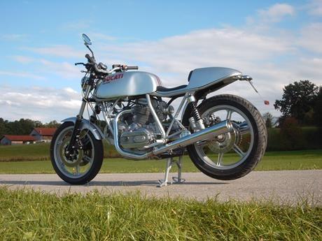 Moko - Ducati 900 SS - Fotoshooting